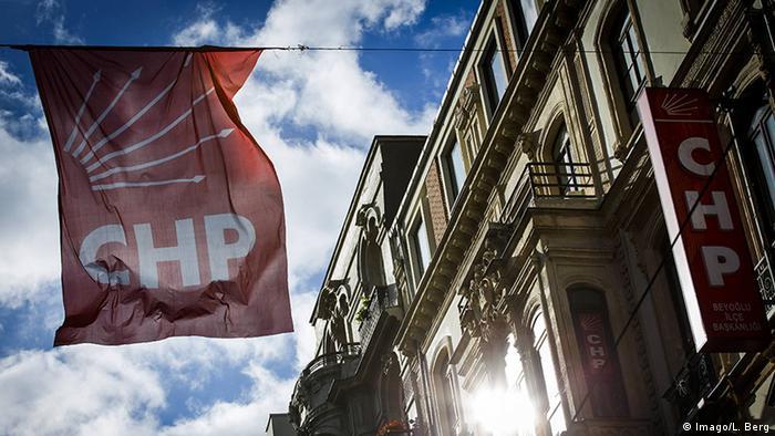 Istanbul Fahne Logo CHP