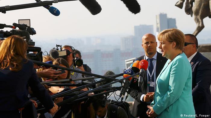 Slowakei EU Gipfel Ankunft Merkel