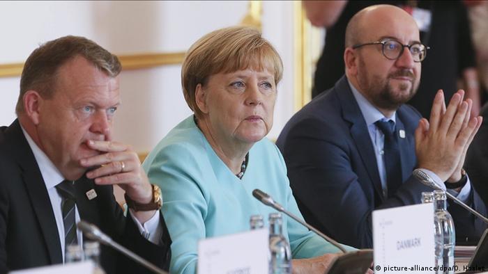 Slowakei EU Gipfel in Bratislava erste Sitzung Merkel