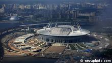 Stadion Zenit-Arena in Sankt-Petersburg im Bau