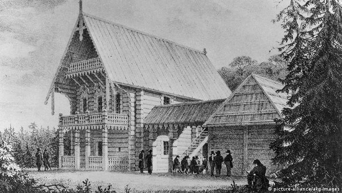 Литография 1825 года