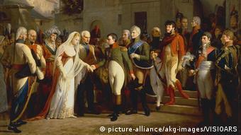 Gemälde Napoleon und Luise (picture-alliance/akg-images/VISIOARS)