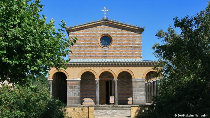 Закровский храм Христа Спасителя в Потсдаме