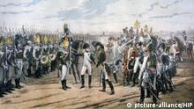 Illustration Napoleon in Tilsit