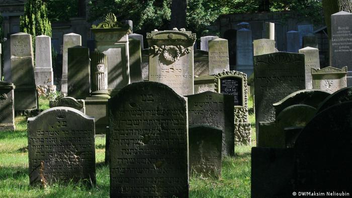 Еврейское кладбище в Потсдаме