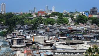 Slum Kolombo Sri Lanka