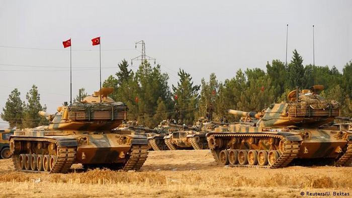 Türkische Panzer in Syrien
