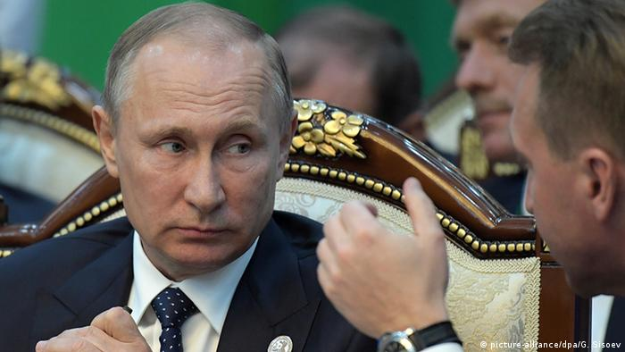 Kirgisistan GUS Gipfel der Gemeinschaft Unabhängiger Staaten in Bischkek Putin