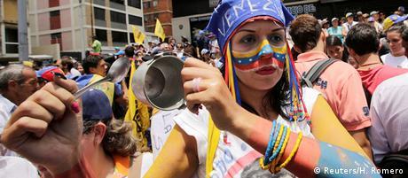 Venezuela Proteste (Reuters/H. Romero)