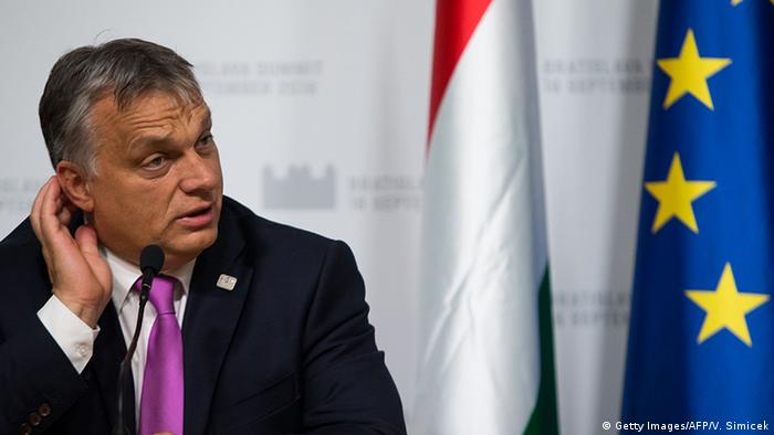 Slowakei EU Gipfel in Bratislava Viktor Orban (Foto: Getty Images/AFP/V. Simicek(