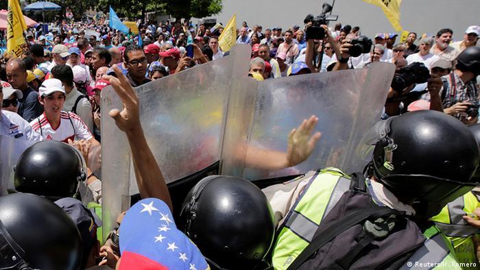 Venezuela Proteste gegen Maduro in Caracas