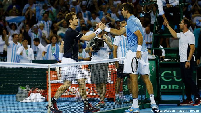 Schottland Tennis Davis Cup Halbfinale - Juan Martin del Potro vs. Andy Murray