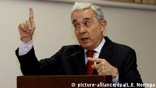 Álvaro Uribe, expresidente de Colombia y actual senador.