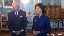 Schweden König Carl XVI. Gustav und Königin Silvia von Schweden