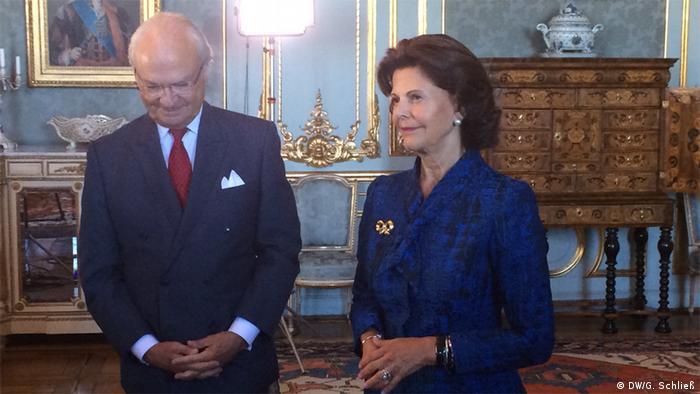 King Carl XVI Gustav and Queen Silvia of Sweden (Copyright: DW/G. Schließ)