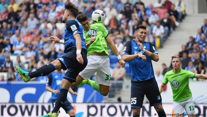 Fußball Bundesliga TSG 1899 Hoffenheim vs. VfL Wolfsburg