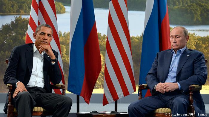 Nordirland G8 Gipfel Wladimir Putin und Barack Obama