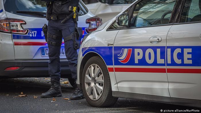 Frankreich Paris Polizei
