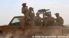 Syrien US Spezialeinheiten in der Provinz Raqqa