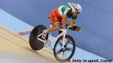 ARCHIV 2012 +++++++ LONDON, ENGLAND - AUGUST 31: Bahman Golbarnezhad of Iran of Cuba competes in Men's Individual C4-5 1km Cycling Time Trial final on day 2 of the London 2012 Paralympic Games at Velodrome on August 31, 2012 in London, England. +++ (C) Getty ImagesG. Copley