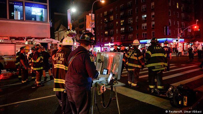 USA New York Explosion mit Verletzten
