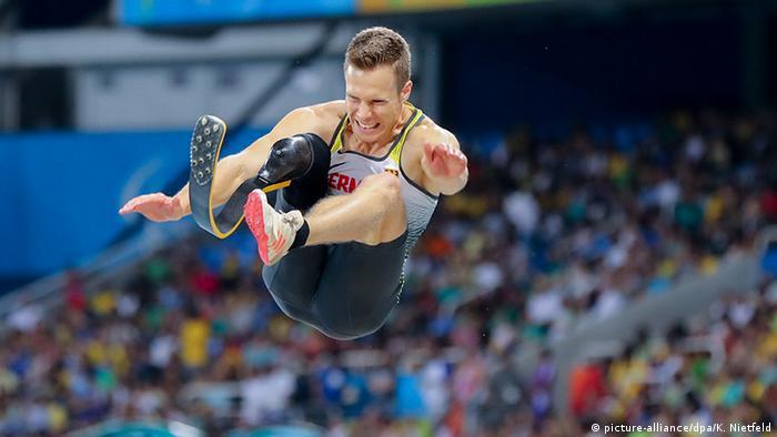 Brasilien Paralympics Rio 2016 Weitsprung - T44 Männer Gold Markus Rehm