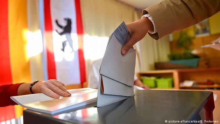 Voting in Berlin