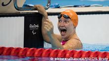 Rio Paralympics 2016 Yelyzaveta Mereschko Schwimmen