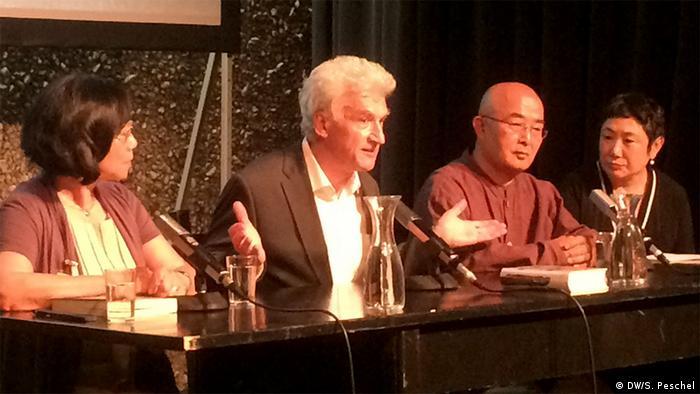 Internationales Literaturfestival Berlin Veranstaltung zu Liu Xiaobo (DW/S. Peschel)