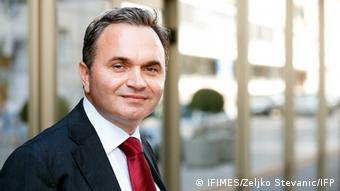 Zijad Bećirović, Direktor Međunarodnog instituta za bliskoistočne i balkanske studije (IFIMES) iz Ljubljane Zijad Bećirović