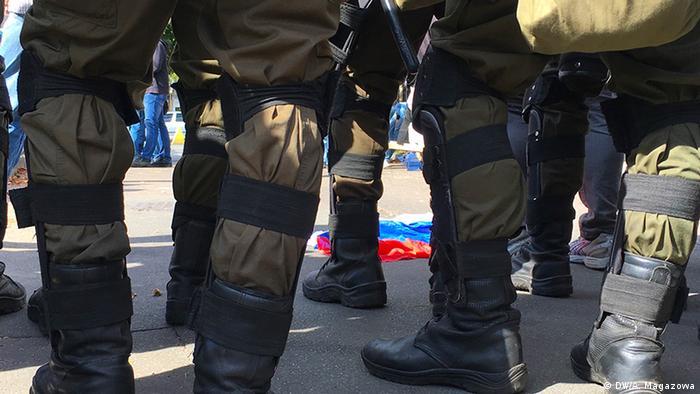 Правоохранители будут охранять посольствоРФ 18сентября вштатном режиме— Премьер Украины