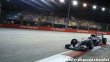 Formel 1 Grand Prix Marina Bay City Circuit in Singapur Nico Rosberg