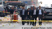 USA New York Gouverneur Andrew Cuomo Explosion