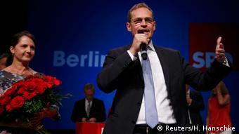 Berlin Wahlen zum Abgeordnetenhaus erste Wahlergebnisse Michael Müller SPD