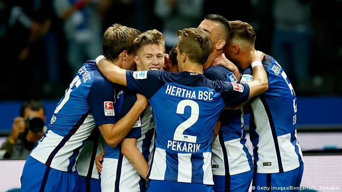 Fußball Bundesliga Hertha BSC - FC Schalke 04