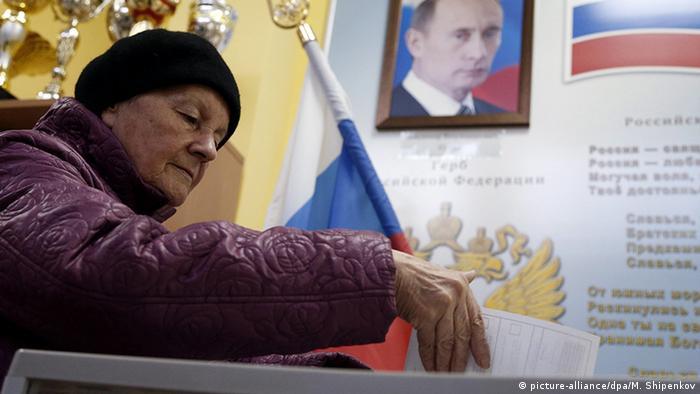 Russland Parlamentswahlen