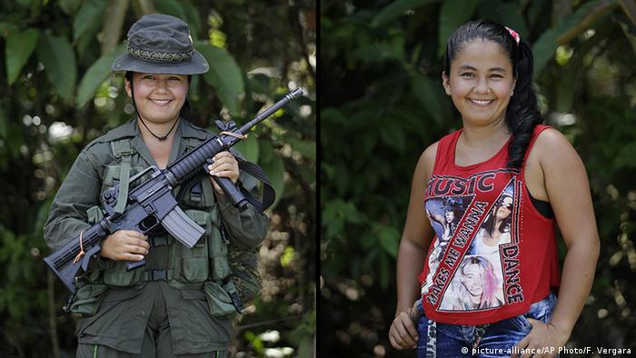 Kolumbien FARC Guerilla Yuri Renteria (picture-alliance/AP Photo/F. Vergara)