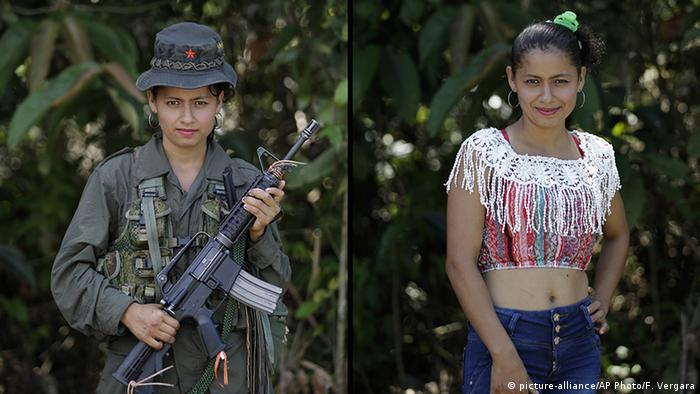 Kolumbien FARC Guerilla Mayerli (picture-alliance/AP Photo/F. Vergara)