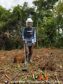 Landminen in Kambodscha - Gefährliche Suche nach versteckten Minen