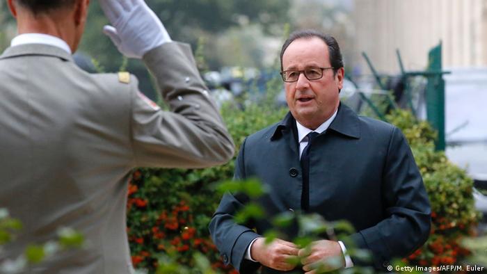 Frankreich Paris - Gedenkfeier der Terroropfer - Francois Hollande (Getty Images/AFP/M. Euler)