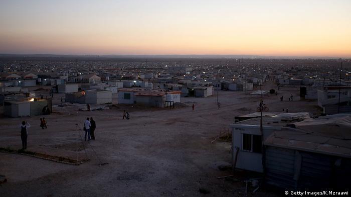 Das Flüchtlingslager Satari in Jordanien