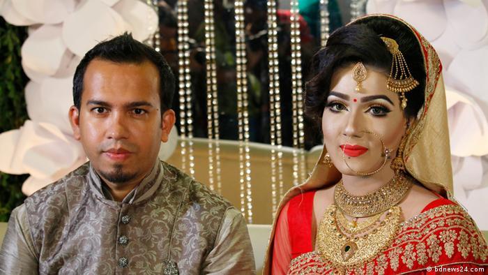Heirat des Ministers fürs Zugstreckennetz und Mahiya Mahi (bdnews24.com)
