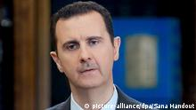 Syrien Baschar al-Assad in Damaskus