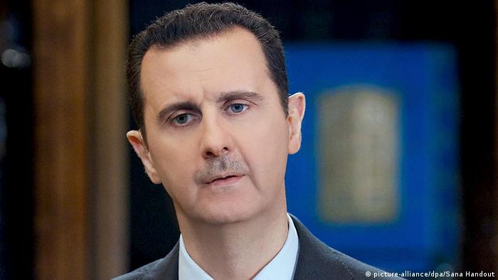 Syrien Baschar al-Assad in Damaskus (picture-alliance/dpa/Sana Handout)