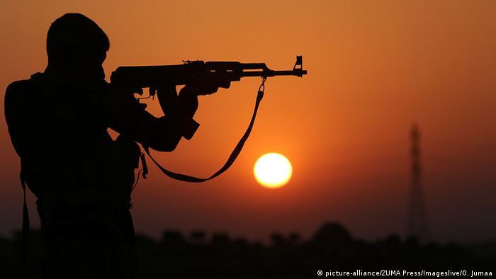 Syrien Kämpfer in Aleppo