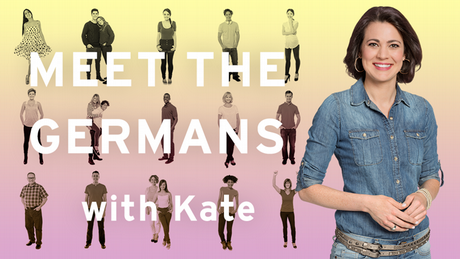 Banner: Meet the Germans with Kate (Copyright: DW)