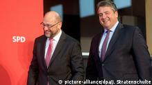 Gabriel's decision to step down as SPD chairman leaves the door open for Martin Schulz to potentially take his place.
