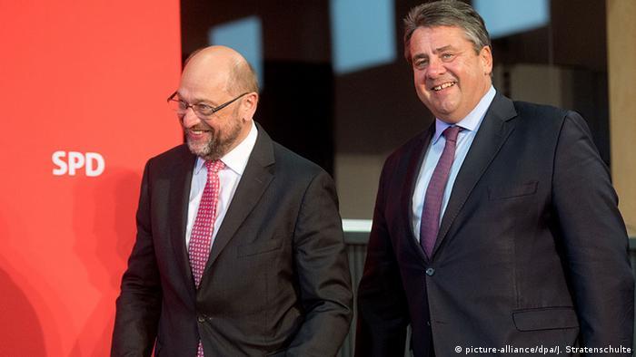 El presidente del Partido Socialdemócrata de Alemania, el vicecanciller Sigmar Gabriel, renunció hoy a presentarse como candidato del partido para los comicios generales de septiembre y propuso a Martin Schulz. (24.01.2017)