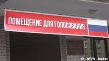 Russland Wahlen in Sankt Petersburg
