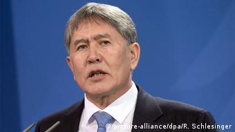 Deutschland kirgisische Präsident Almasbek Atambajew